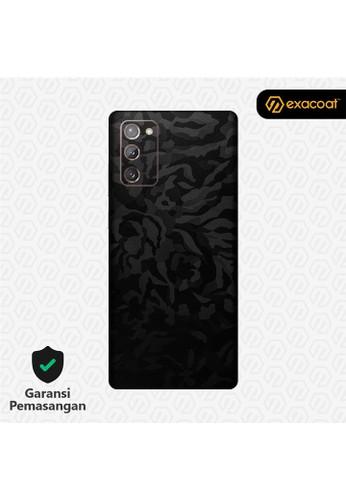 Exacoat Galaxy Note 20 3M Skins Camo Series - Black Camo 9FEC0ES9E392FAGS_1