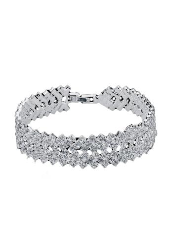 Elfi silver Elfi Genuine Silver Bracelet SB24-P EL186AC64LZNMY_1