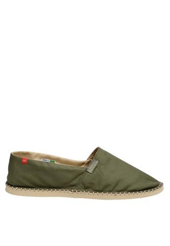 Havaianas green Origine III Slip-on Sneakers B6AEESHD42EB7DGS_1