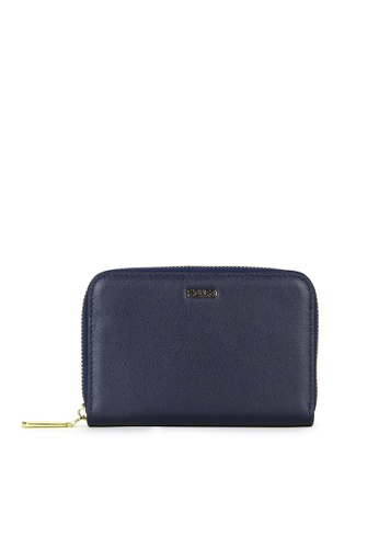 Picard navy Picard Genesis Zip Around Wallet in Navy D2EB9ACE68E1FAGS_1