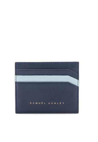 Samuel Ashley blue Samuel Ashley Jillian Card Holder - Ink F1475ACD58B75CGS_1