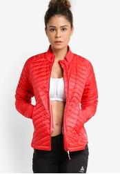 Odlo red Midlayer Full Zip Helium Cocoon Jacket OD608AA48JZVMY_1
