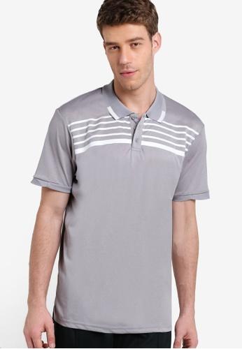 Cotton On grey Coar Performance Pique Polo Shirt CO372AA76MSXMY_1