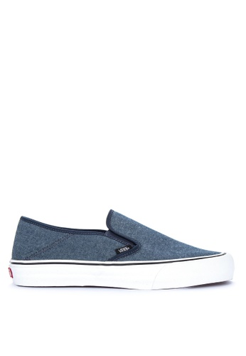 VANS blue Slip-On SF Sneakers 8E9A0SHC076875GS_1
