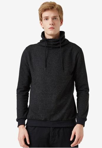 KOTON black Melange Pullover 4B8FFAA062BBDBGS_1
