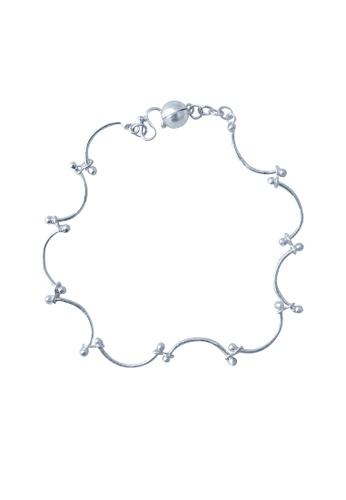 Elfi silver Elfi Genuine 925 Silver Merry Bracelet SB-15M EL186AC72GNRMY_1