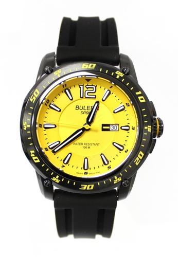 Buler black and yellow Buler Sport Watch - Yellow - Gents - Date - 3H BU689AC2VG16HK_1