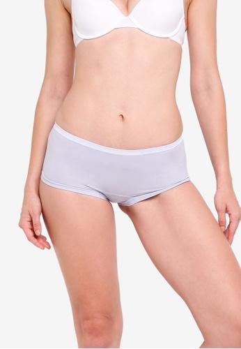 Calvin Klein white Boyshort Panties - Calvin Klein Underwear 11BFAUS6A299D9GS_1