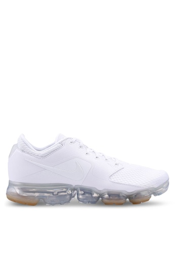 Nike white and silver Men's Nike Air Vapormax Running Shoes 19312SH124795BGS_1