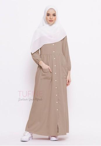 Tufine beige Nazwa Dress 588B5AAAF09136GS_1