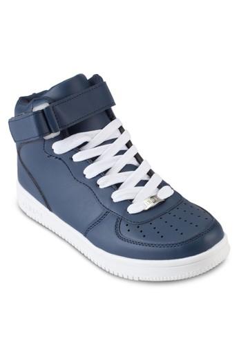 穿孔高筒休閒運動鞋, 鞋,esprit tsim sha tsui 休閒鞋