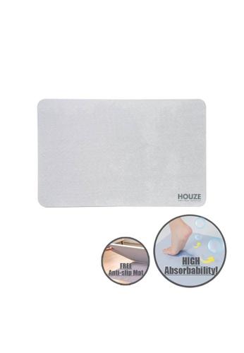HOUZE grey HOUZE - Diatomite Absorbent Mat (Large) - Grey 69C07HL36069C6GS_1