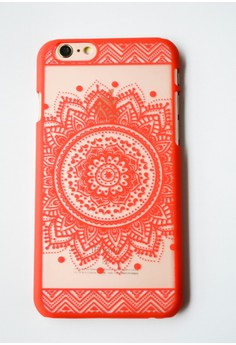 Mandala Hard Transparent Case for iPhone 6/6s