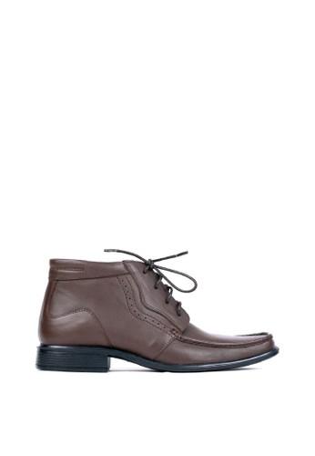 Tony Perotti brown Tony Perotti Boots Enzo - Brown 597B8SH069E1B5GS_1