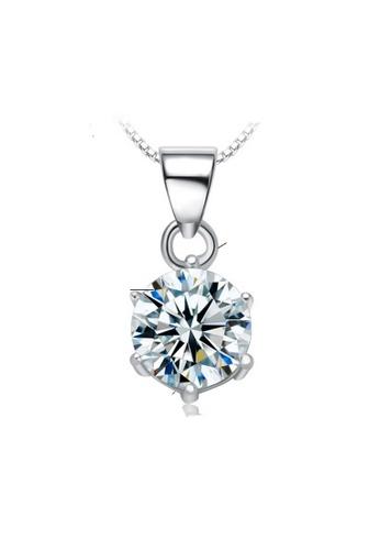 LYCKA silver LPP88189 S925 Silver Necklace 90ACBAC331567AGS_1