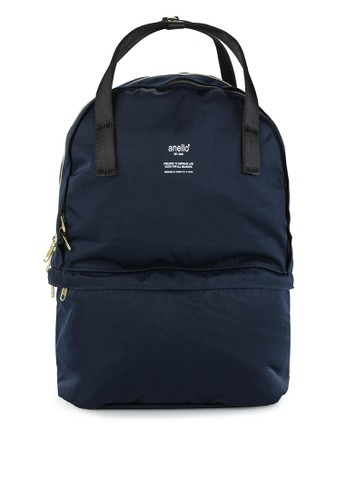 Anello navy Two Layer Multi Function Backpack AN804AC0U5SHID_1
