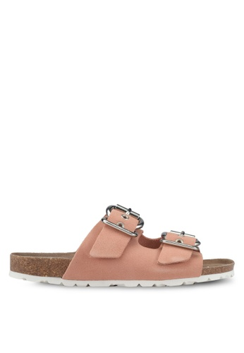 TOPSHOP pink Finch Sliders TO412SH0SHIEMY_1