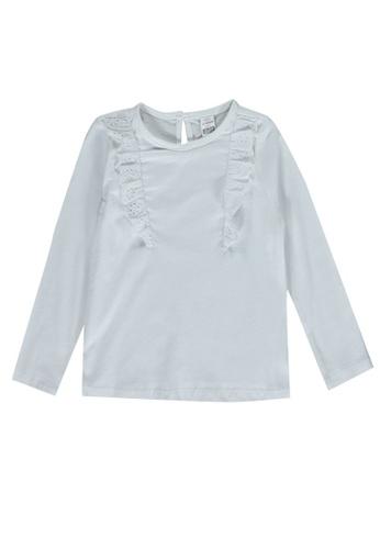 LC Waikiki white Baby Girl's Basic Cotton T-Shirt A16F3KA535A513GS_1