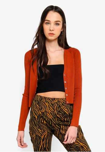 Cotton On brown Cleo Co Ord Cardigan 09F9DAA2233590GS_1