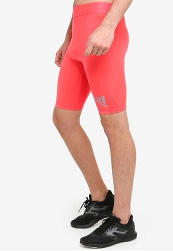 a0cb778e50c87 adidas red adidas performance alphaskin sport short tights  71756AA4CED4E5GS_1