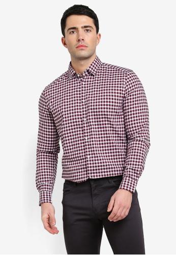 Sisley multi Checked Shirt 598AAAA49F1F92GS_1