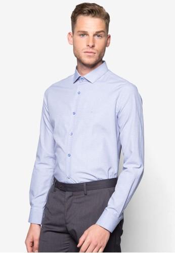 簡約修身長袖襯衫esprit taiwan, 服飾, 襯衫