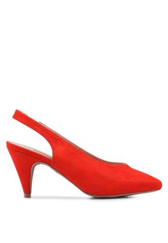 Dorothy Perkins red Red Emma Court Shoes 74F38SH8267856GS_1