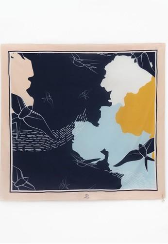 1 PEOPLE blue Amelia Earhart - Le Carré Scarf 02221AABDE23F2GS_1
