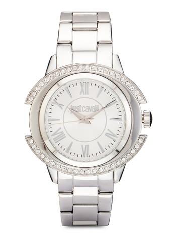 R7253216504 Just Decor 閃鑽不銹鋼手錶, 錶esprit holdings類, 飾品配件