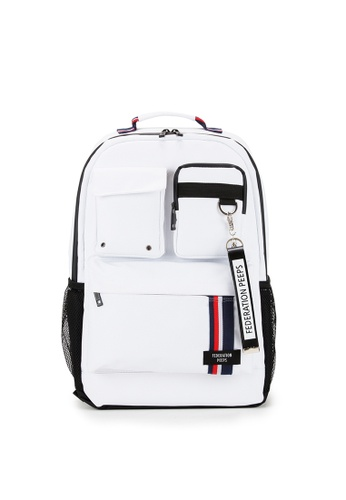 Peeps white Magnum Backpack B6A34AC1F78310GS_1