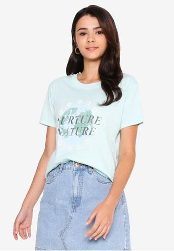 Cotton On blue Classic Arts T Shirt 651D5AAA404B7EGS_1