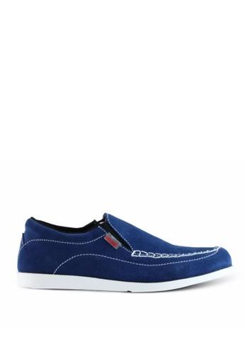 Sogno blue Sepatu Slip On Pria GF.5607 177CDSH2D4639EGS_1