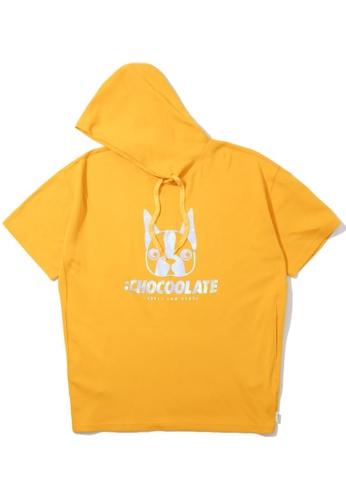 :CHOCOOLATE yellow Dog hoodie 466E1AAC738E36GS_1