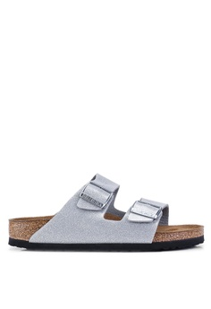 caf1a6273 Birkenstock silver Arizona Magic Galaxy Soft Footbed Sandals  F7081SH0A3475EGS 1