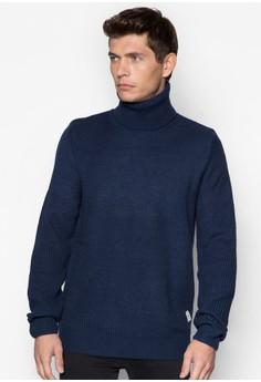 Turtle Neck Textured Sweater