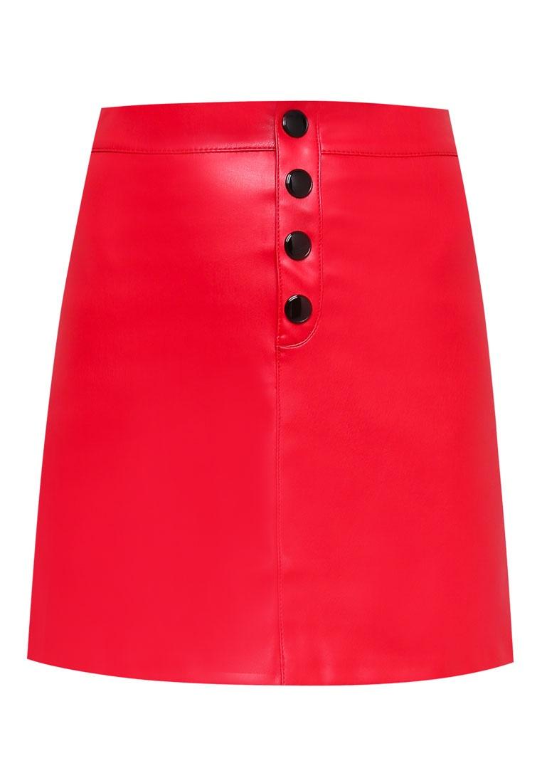 Mango Red Buttons Mango Skirt Buttons Red Skirt Buttons Contrast Skirt Mango Contrast Contrast qqUxAS1nZ