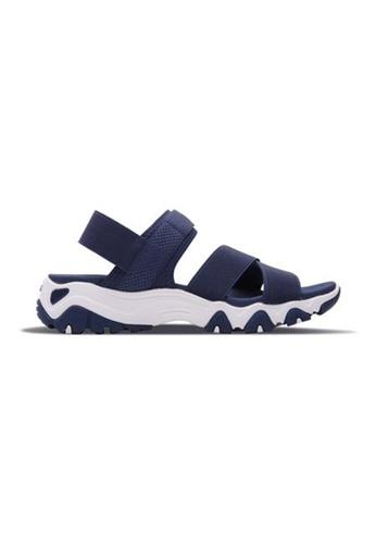 Skechers navy Dlites Sneakers D94DCSH372F403GS_1