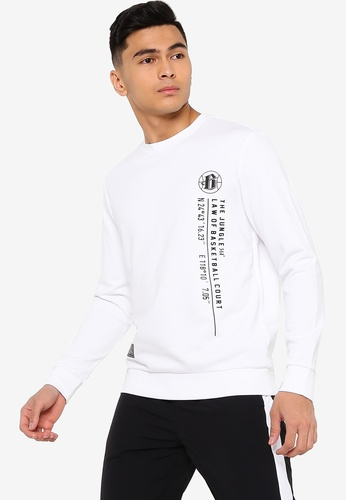 361° white Basketball Series Sweater 20469AA119D548GS_1