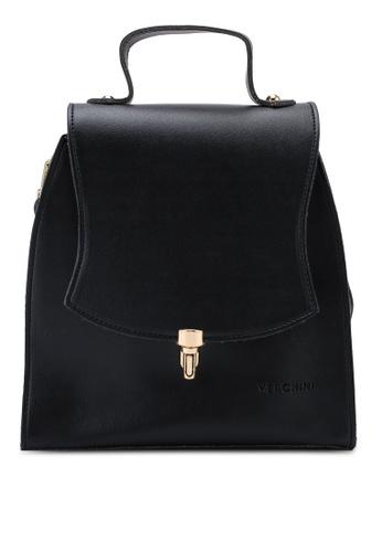 Verchini black Verchini Elegant Backpack 80C6CAC1107471GS_1