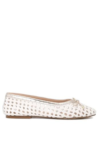 Rag & CO. 白色 Rag & Co 女士白色棉网平底鞋 71DD8SH0A67E62GS_1