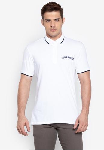 Collar Wrangler Tipped Shirt Contrast On Online Polo Zalora Shop xTatwdqFx