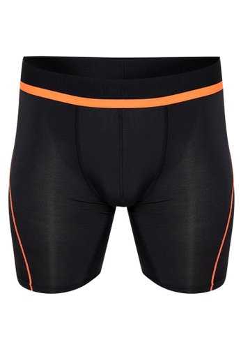 Walker Underwear orange Walker Compression Athletic Shorts 55872US7D20373GS_1