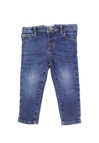 Gingersnaps blue Neo Japonique Pant Mid Denim Blue 4C486KAFA3BABBGS_1