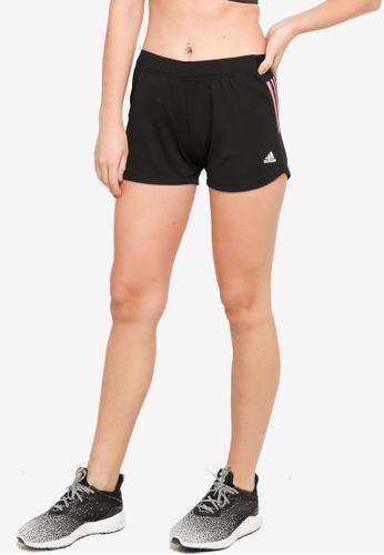ADIDAS black designed to move knit 3-stripes sport shorts 86D34AA38D8CC9GS_1