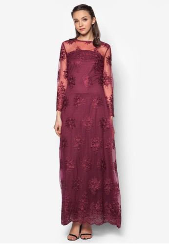 Lace A-Line Dress, 服飾zalora鞋子評價, 服飾