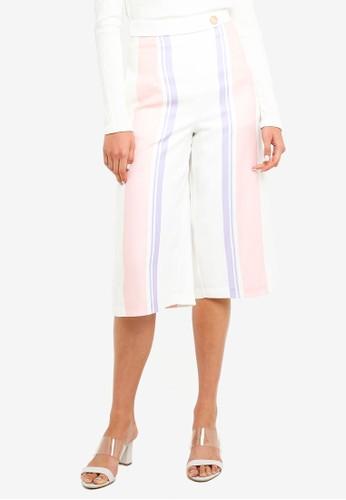 Megane pink Best Frenz Aylen Wide Leg Culottes 56719AAA7A9995GS_1