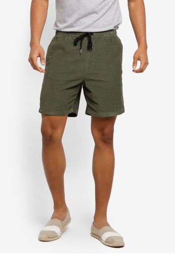 Cotton On green Easy Shorts CDAF5AA7BA2C02GS_1