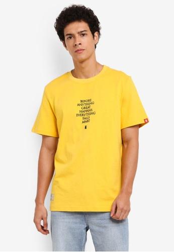 TNTCO yellow Vicious Tee 903DEAAE302A90GS_1
