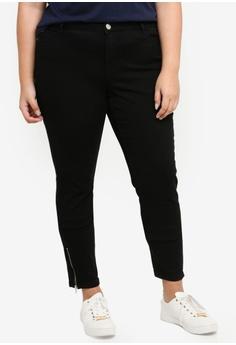 89dccbc2aa0 Junarose black Plus Size Woven Jeans 4C29AAAA77677DGS 1