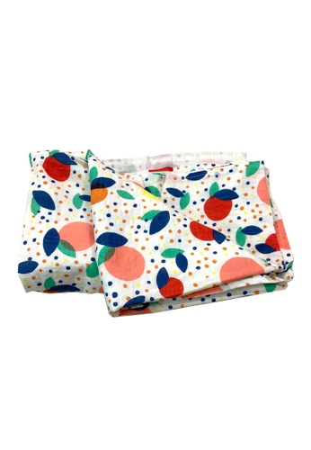 Chica Chico multi Colorful Baby and Kids Blanket 30CEEKCFF32434GS_1